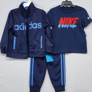 🆕️ Adidas set w'Nike tee